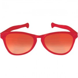 Giant Sunglasses Red Plastic