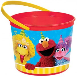 Sesame Street Favor Container & Handle