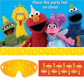 Sesame Street Party Game - Place the Hat on Elmo