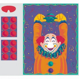 Game Pin the Nose On The Clown