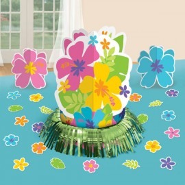 Table Decorating Kit Hibiscus Flowers
