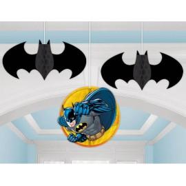 Batman Honeycomb Hanging Decorations