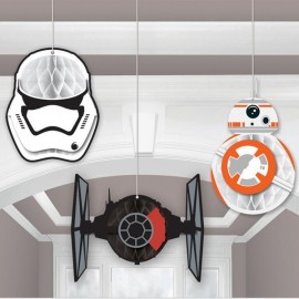 Star Wars Honeycomb Hanging Decorations