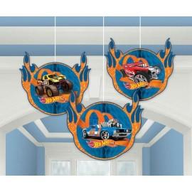Hot Wheels Honeycomb Hanging Decorations