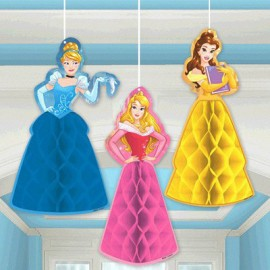 Princess Dream Big Honeycomb Hanging Decorations