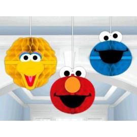Sesame Street Honeycomb Hanging Decorations