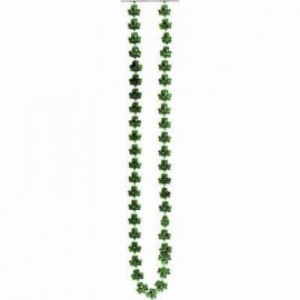 Necklace Shamrock Bead St Patrick's Day