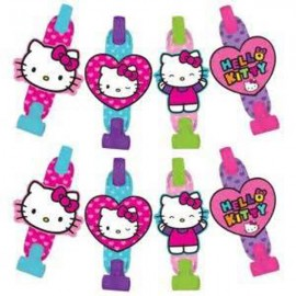 Hello Kitty Rainbow Blowouts with Medallions