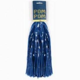 Pom Poms Blue