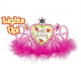 Light Up Happy Birthday Tiara Sweet Stuff