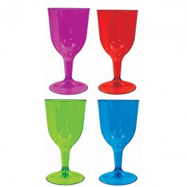 Cocktail Wine Glasses Assorted Colours