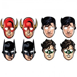 Justice League Masks Assorted Designs