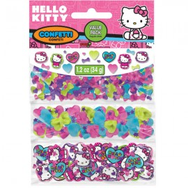 Hello Kitty Rainbow Confetti Bulk Value Pack