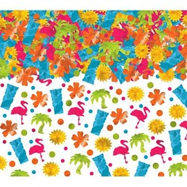 Confetti Tropical Luau Value Pack 70g