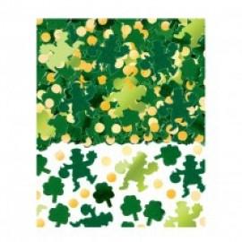 Confetti Green Shamrock