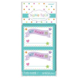 Baby Shower Name Tags  - My Name Is