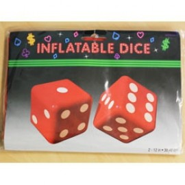 Inflatable Dice Decoration