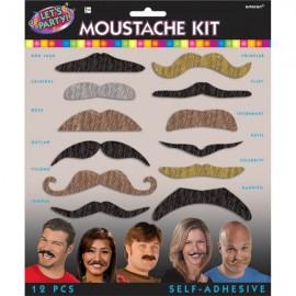 Moustaches Let's Party