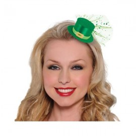 St Patrick's Day Mini Hair Clip