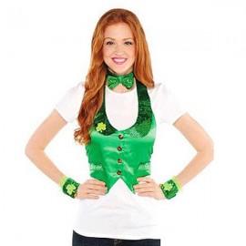 St Patrick's Day Ladies Leprechaun Dress Up Kit