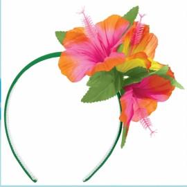 Headband Luau Hibiscus Flowers