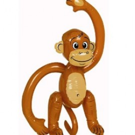 Inflatable Monkey (50cm)