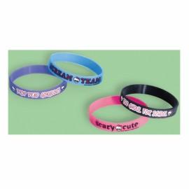 Monster High Rubber Bracelets Favors