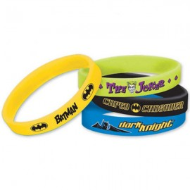 Batman Rubber Bracelets Favors