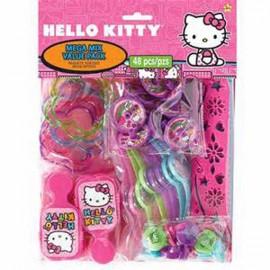 Hello Kitty Rainbow Mega Mix Favors Value Pack