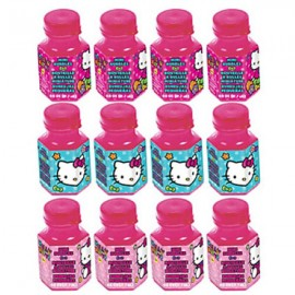 Hello Kitty Rainbow Mini Bubbles Favors