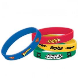 Justice League Rubber Bracelets Favors