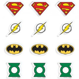 Justice League Erasers Favors Value Pack