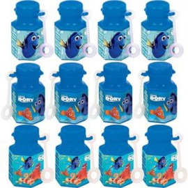 Finding Dory Mini Bubbles Favors