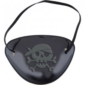 Little Pirate Eye Patch Favors Black Plastic