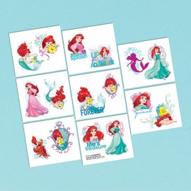 Ariel Dream Big Tattoos Little Mermaid Assorted Designs