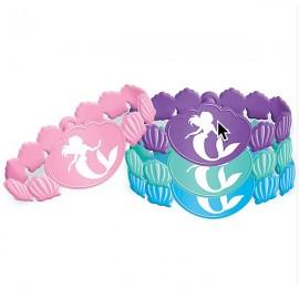 Ariel Dream Big Rubber Bracelets Little Mermaid