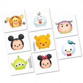 Tsum Tsum Tattoos Assorted Designs