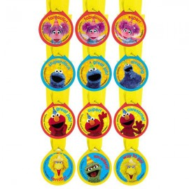 Sesame Street Award Medals