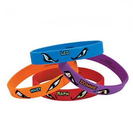 Teenage Mutant Ninja Turtles Rubber Bracelets