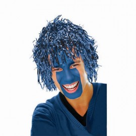 Wig Fun Blue Tinsel