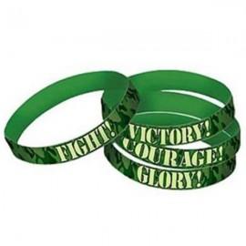 Camouflage Bracelets Favors Rubber