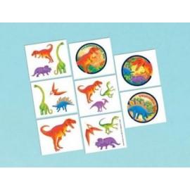 Prehistoric Dinosaurs Tattoos Assorted Designs