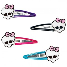 Monster High Hair Clips with Skulls