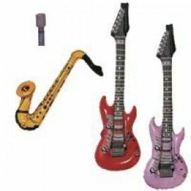 Inflatable Jukebox Rock Instruments