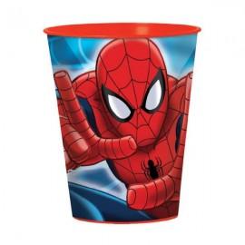 Spiderman Plastic Souvenir Cup