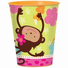 Monkey Love Plastic Souvenir Cup