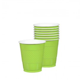 Cups Kiwi Lime Green 355ml Plastic