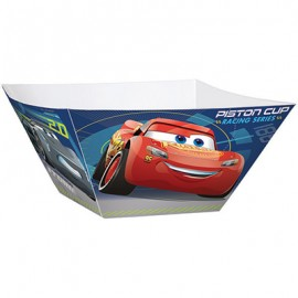 Cars 3 Large Serving Bowls 30cm Cardboard