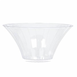 Flared Bowl Container Large Plastic