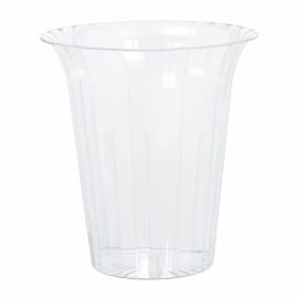 Flared Cylinder Container Medium Plastic
